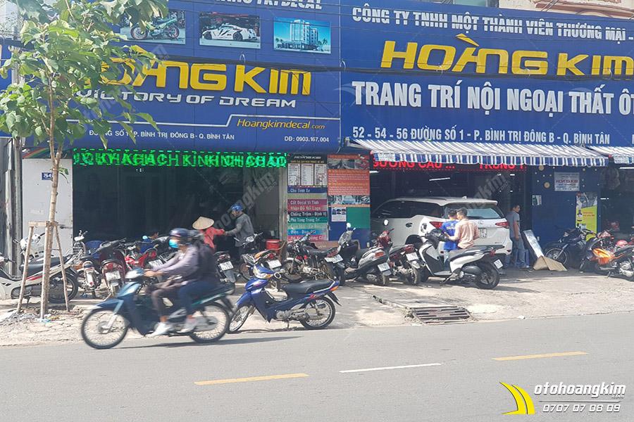 Chi nhánh Ô tô Hoàng Kim Bình Tân