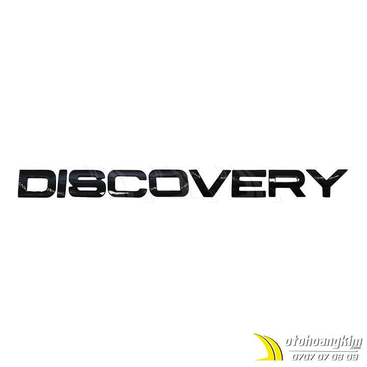 Chữ nổi trang trí Discovery
