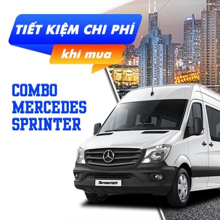 6 phụ kiện xe Mercedes Sprinter [2006-2020]