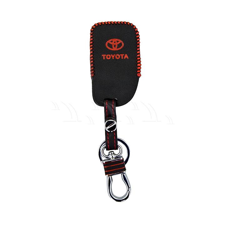 Bao móc khóa da Toyota