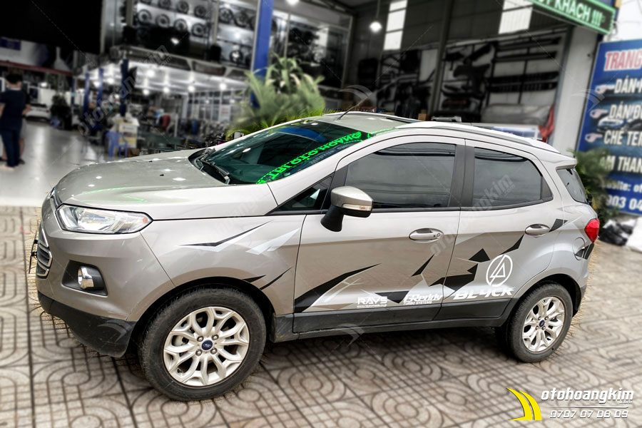 Dán nóc 3M panorama Ecosport chính hãng