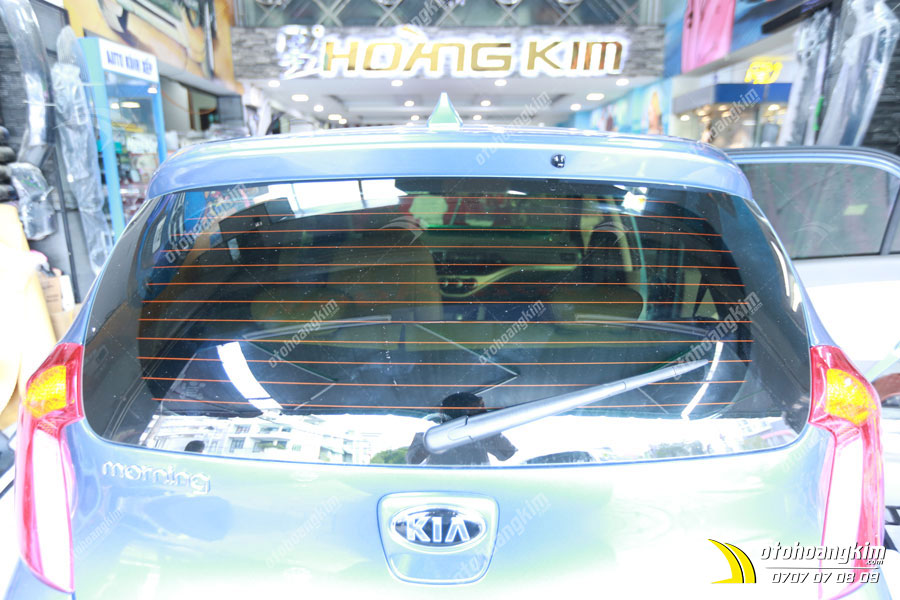 Dán phim cách nhiệt chất lượng cho ô tô Kia