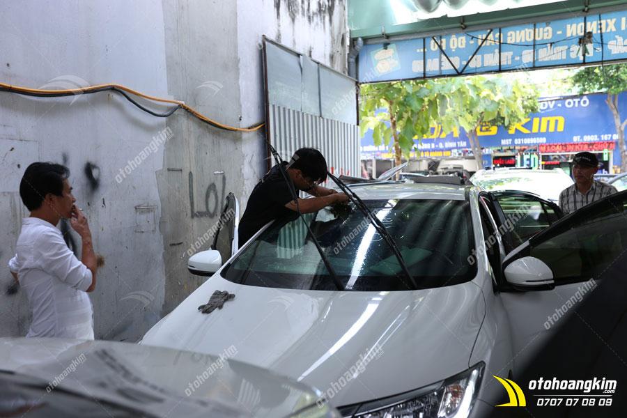 Dán phim cách nhiệt ô tô Honda City