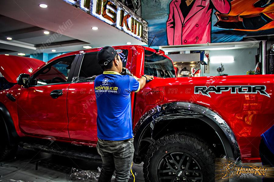 Dán PPF ô tô Ford Raptor