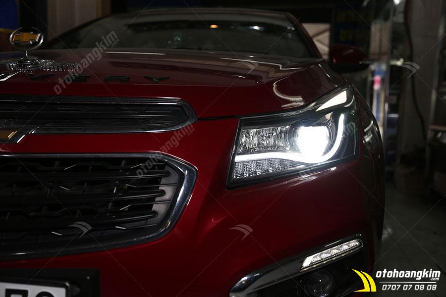 Đèn led ô tô phần đèn pha cho chiếc Chevrolet Cruze