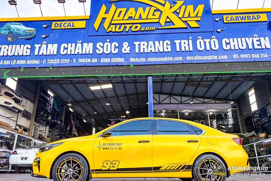 Đến ô tô Hoàng Kim để độ loa treble cho ô tô chính hãng