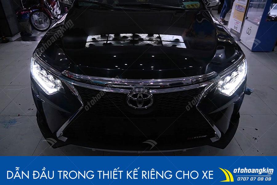 Cản trước Toyota Camry mạnh mẽ nổi bật