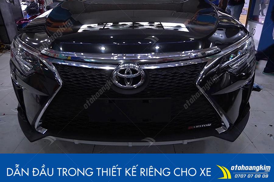Cản trước Toyota Camry cứng cáp tăng độ an toàn