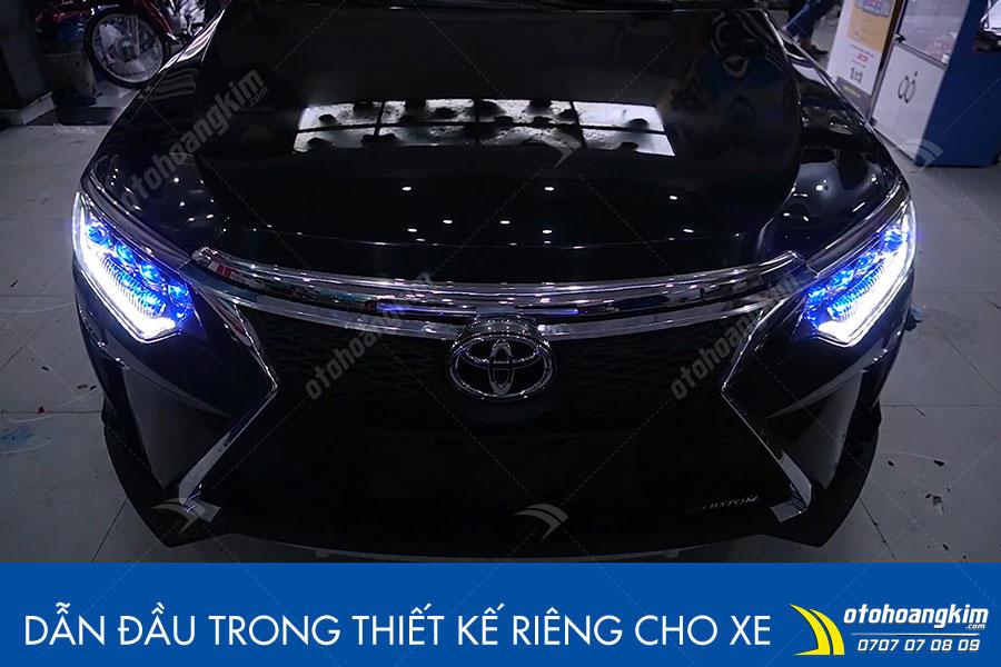 Độ cản trước Toyota Camry sang trọng lịch lãm