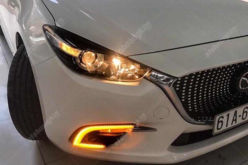Độ đèn Mazda 3 – Giải pháp nâng cấp ánh sáng xe nguyên bản