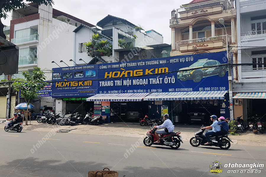 Địa chỉ Ô Tô Hoàng Kim đường số 1 quận Bình Tân