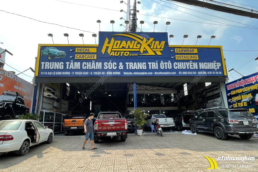 Ô tô Hoàng Kim chuyên độ ốp cua lốp Ford Ranger nhỏ với các mẫu mới nhất