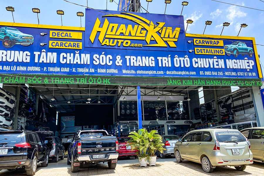 Ô tô Hoàng Kim là địa chỉ cung cấp bậc lên xuống Tuson chính hãng giá tốt nhất