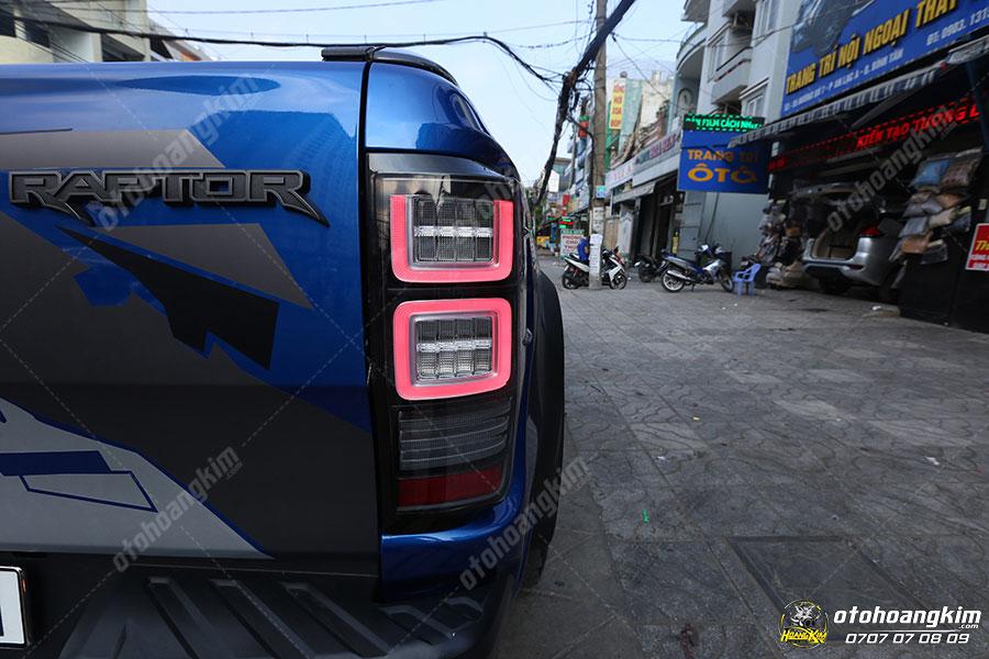 Độ đèn hậu ô tô Ford Ranger