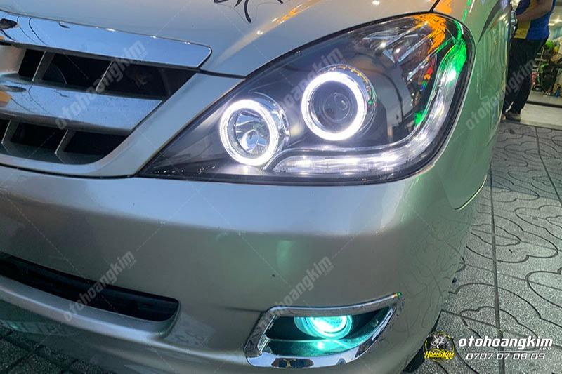 Độ đèn Innova tăng sáng bằng bóng xenon hay bóng led?