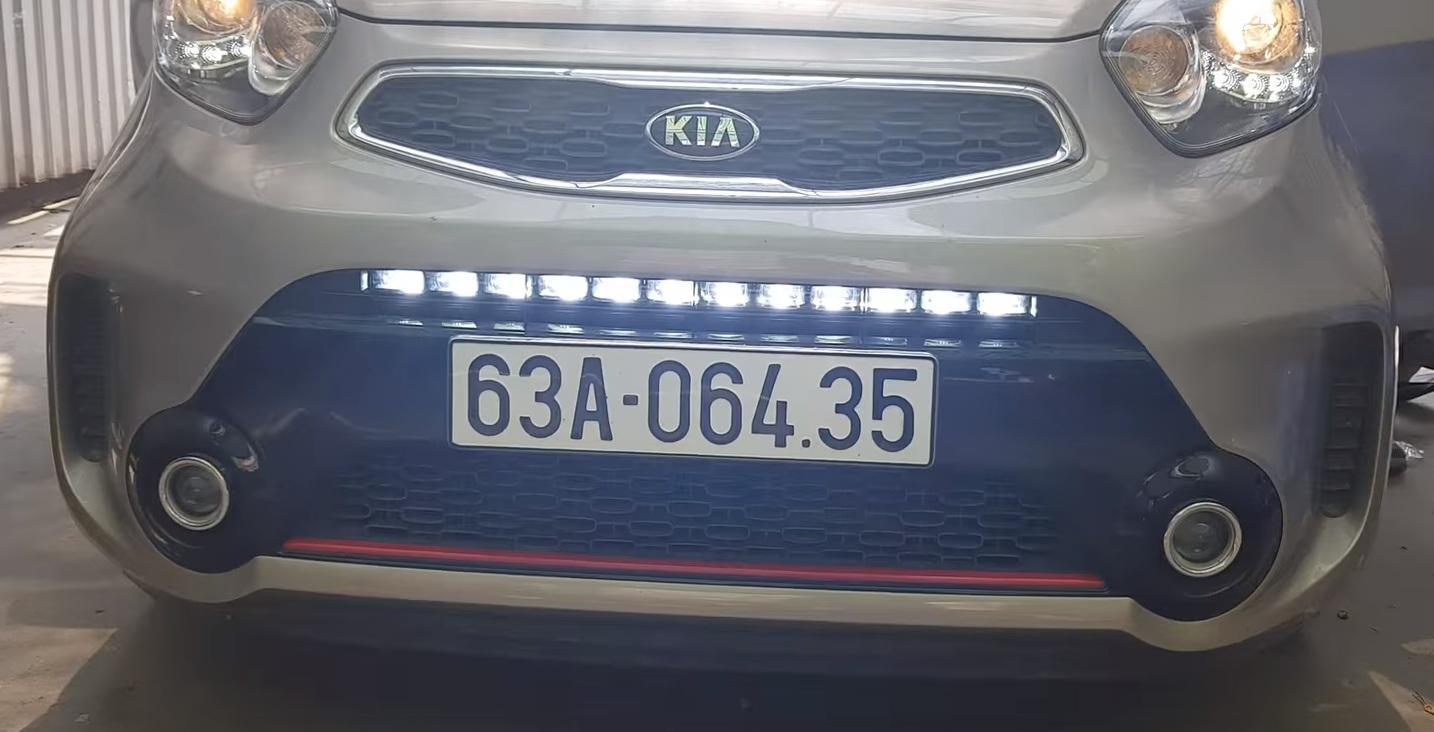 sản phẩm Độ đèn led Kia Morning