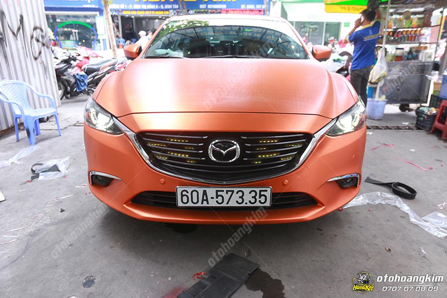 Độ đèn led cho xe Mazda 6 tại trung tâm chăm sóc ô tô Bình Dương