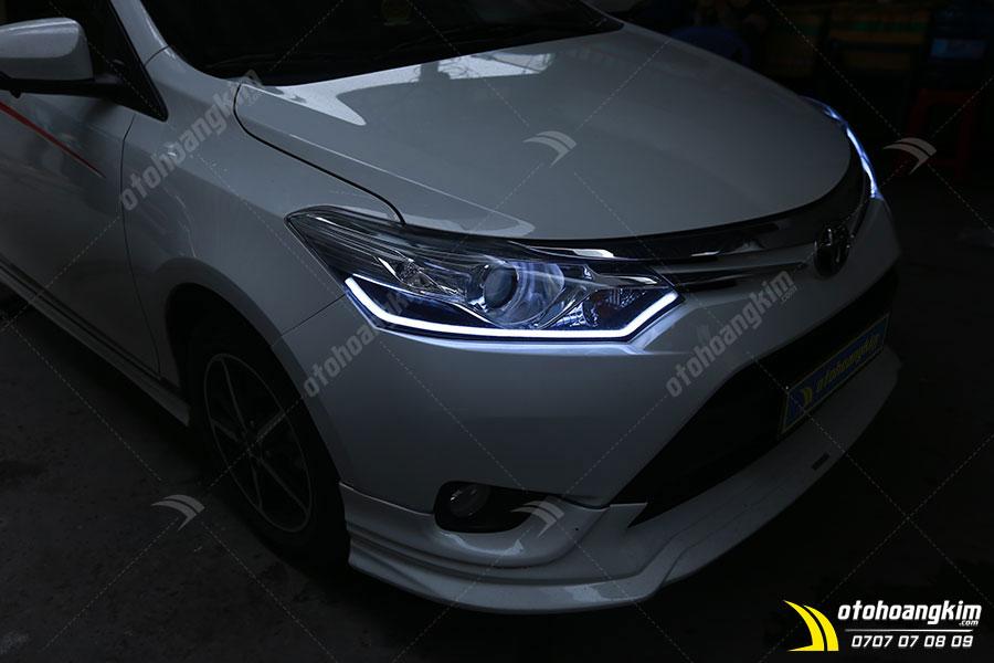 Độ đèn LED ô tô chiếc Toyota Vios