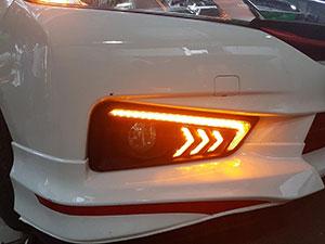 Độ đèn Led cho xe Cruze