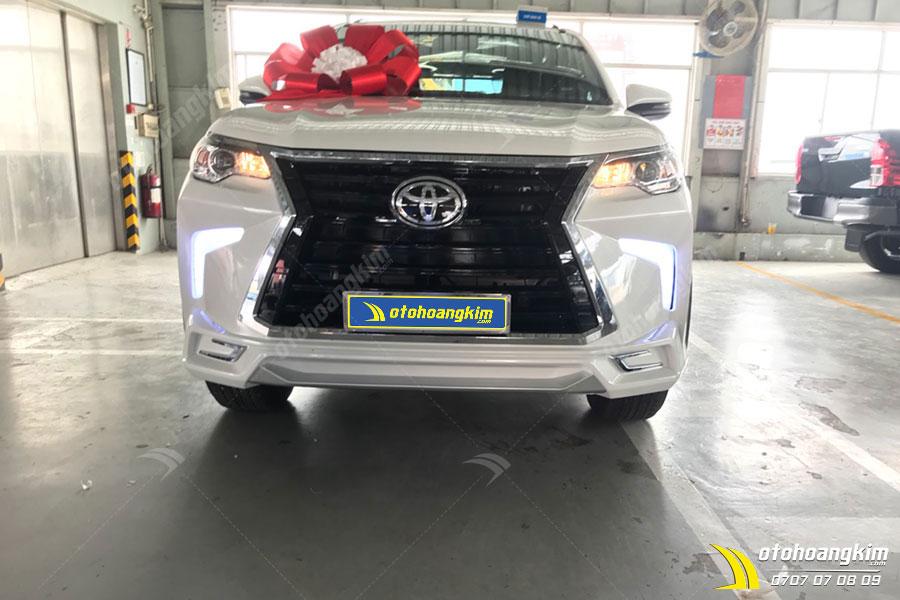 Độ đèn LED ô tô Fortuner cực ngầu và hiện đại