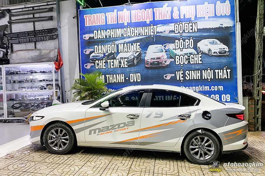 Độ đèn Mazda 3 tại Ô tô Hoàng Kim