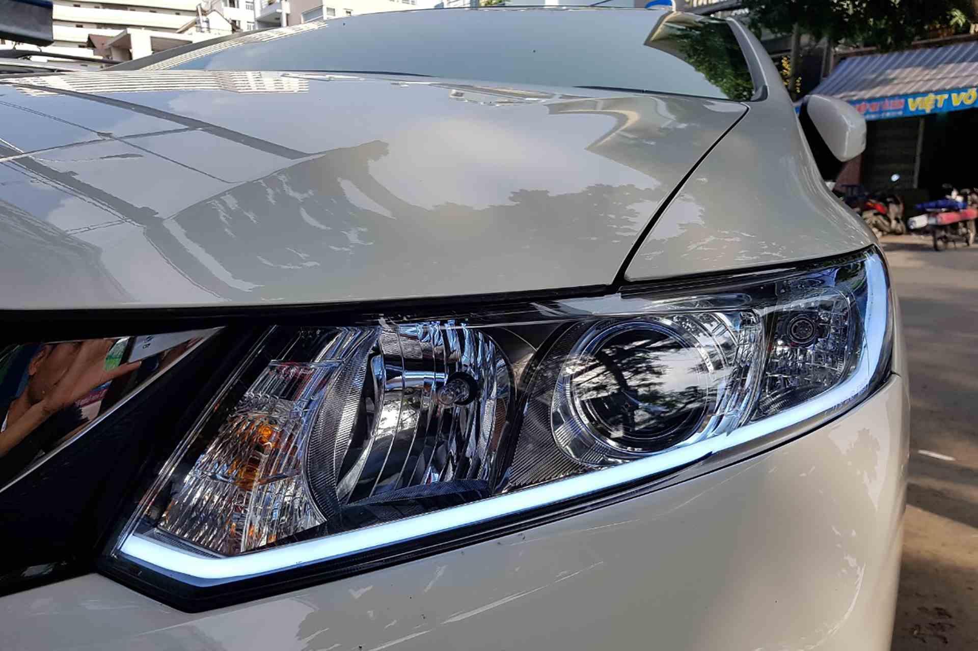 Độ đèn Honda City