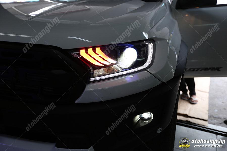 Độ đèn ô tô bi Xenon cho Ford Ranger