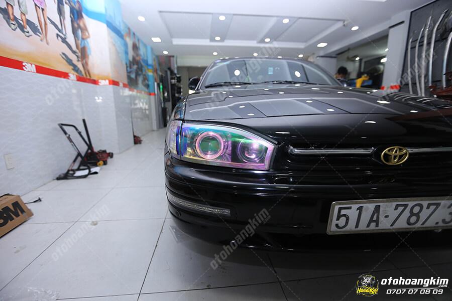 Độ đèn cho xe hơi tại Hoàng Kim