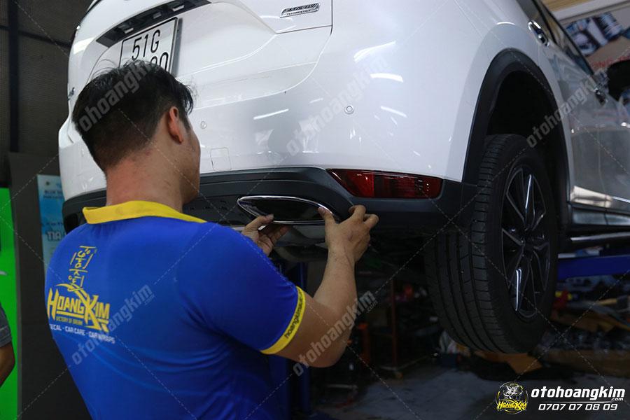 Độ pô xe hơi Mazda CX5 tại Ô tô Hoàng Kim