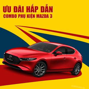 9 phụ kiện xe Mazda 3 [2020]