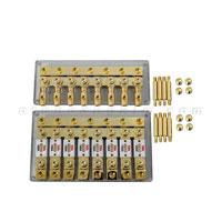 Cầu chì 1 ra 8 BX080 đồng nguyên chất