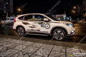 TEM XE HONDA CRV - CRV015