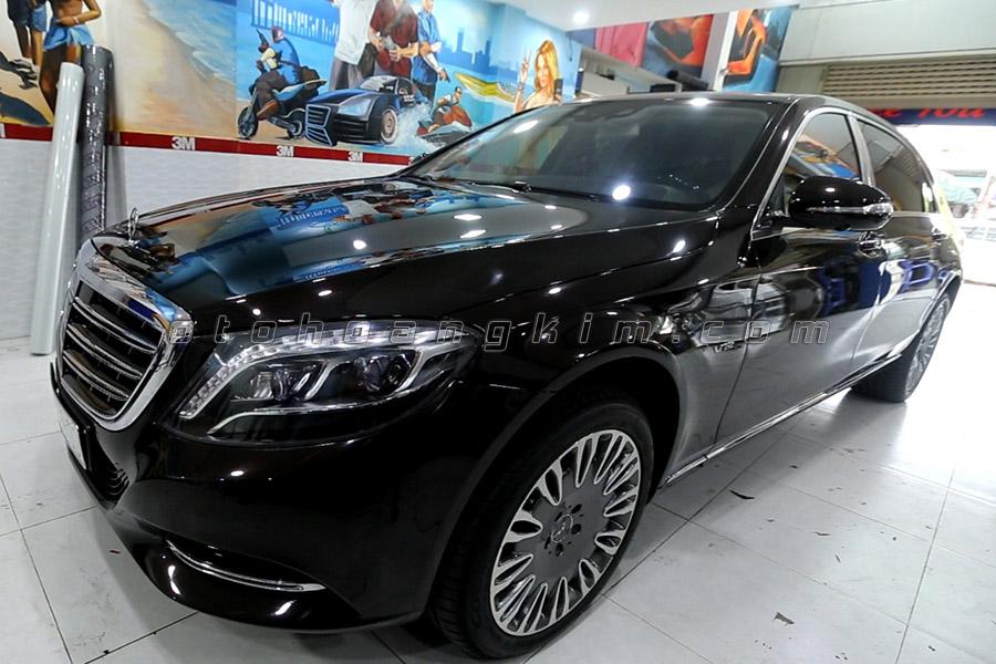 PPF Film được dán cho xe Mercedes