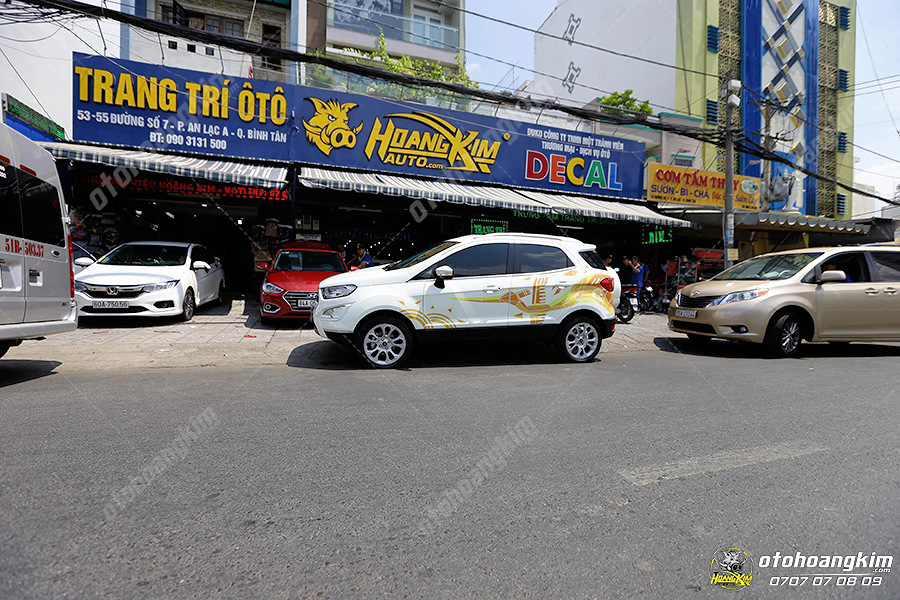 Ô tô Hoàng Kim có nhiều chi nhánh để phân phối motor gập gương chính hãng