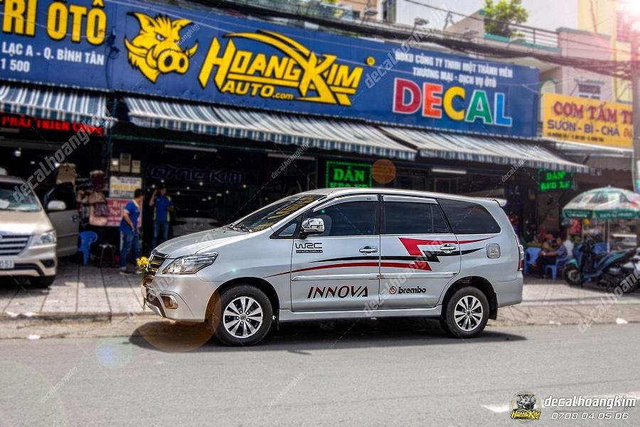 Tất cả các chi nhánh của Ô tô Hoàng Kim đều cung cấp đầy đủ body kit Toyota Innova