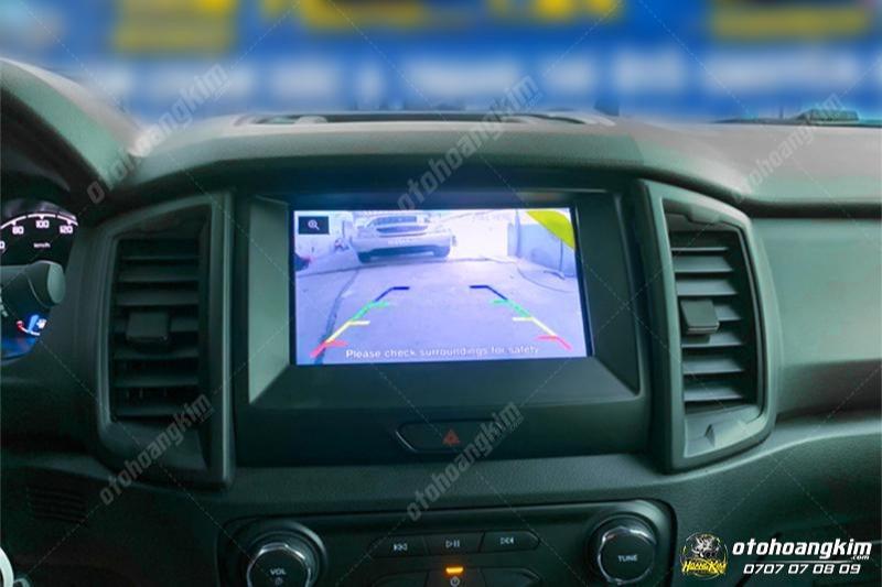 Kích hoạt camera lùi và video cho xe Ranger XLS