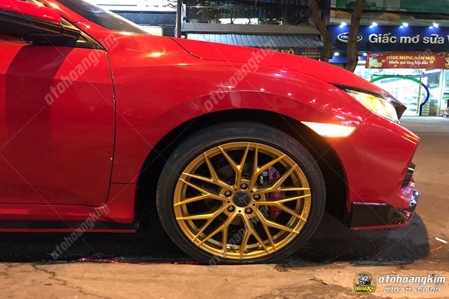 Lazang ô tô mới cực đã mắt cho Honda Civic
