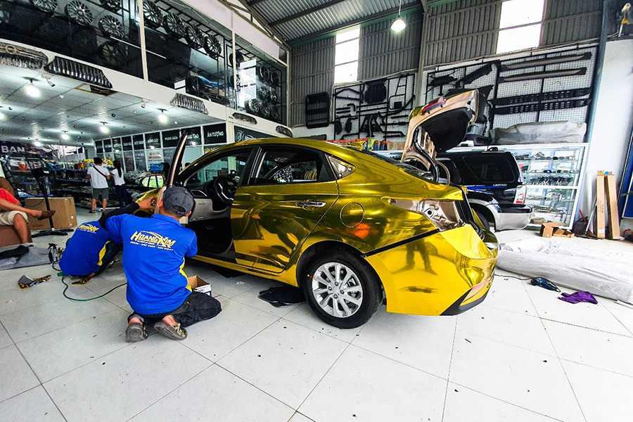 Liên hệ ô tô Hoàng Kim dán phim PPF