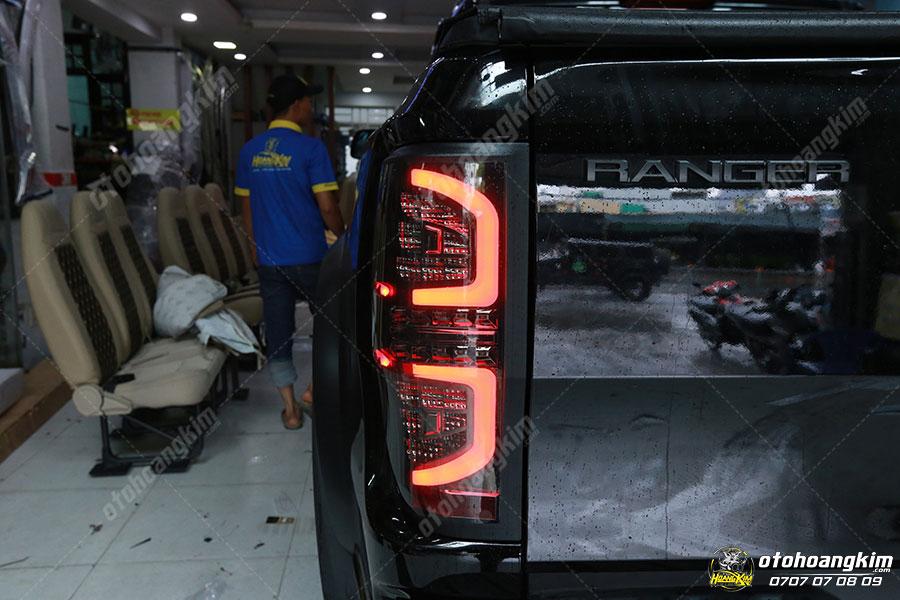 Mẫu đèn hậu ô tô cho chiếc Ford Ranger 4