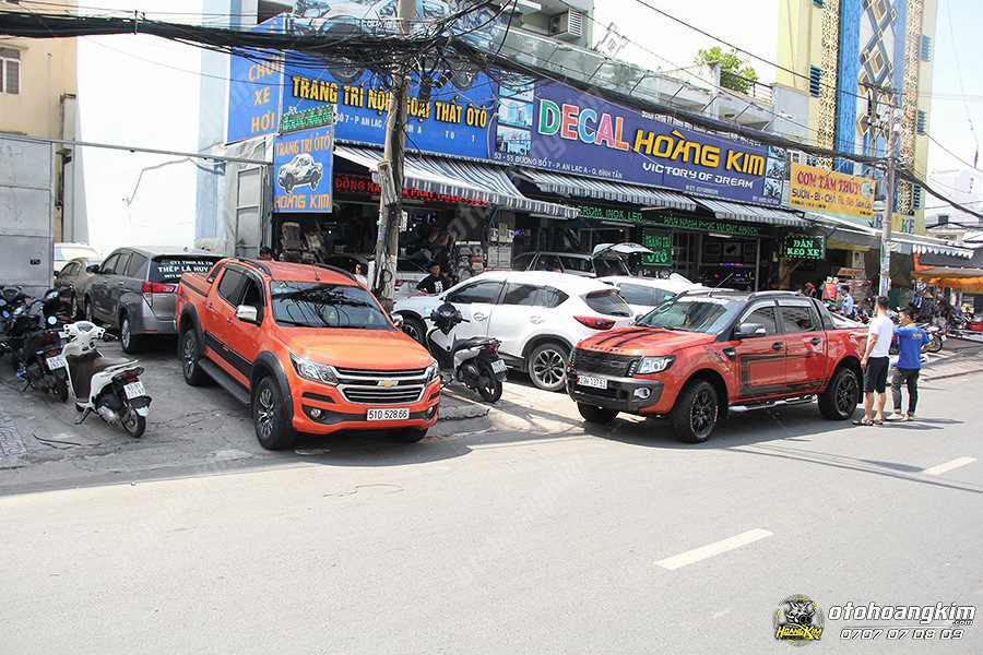 Quý khách có thể mua chắn bùn ARB chữ đỏ tại các chi nhánh ô tô Hoàng Kim tpHCM