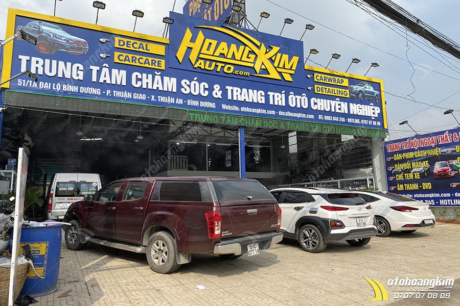 Mua nẹp bước chân ngoài CX5 titan của Hoàng Kim sẽ được dán lắp miễn phí