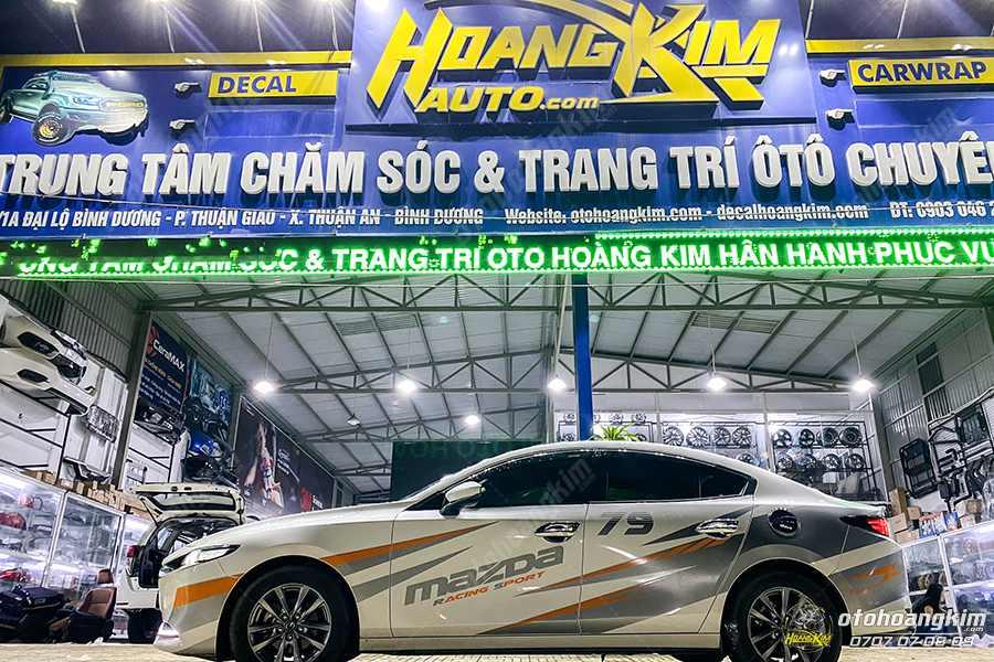 Ô tô Hoàng Kim chuyên phân phối đa dạng thảm taplo Mazda 3