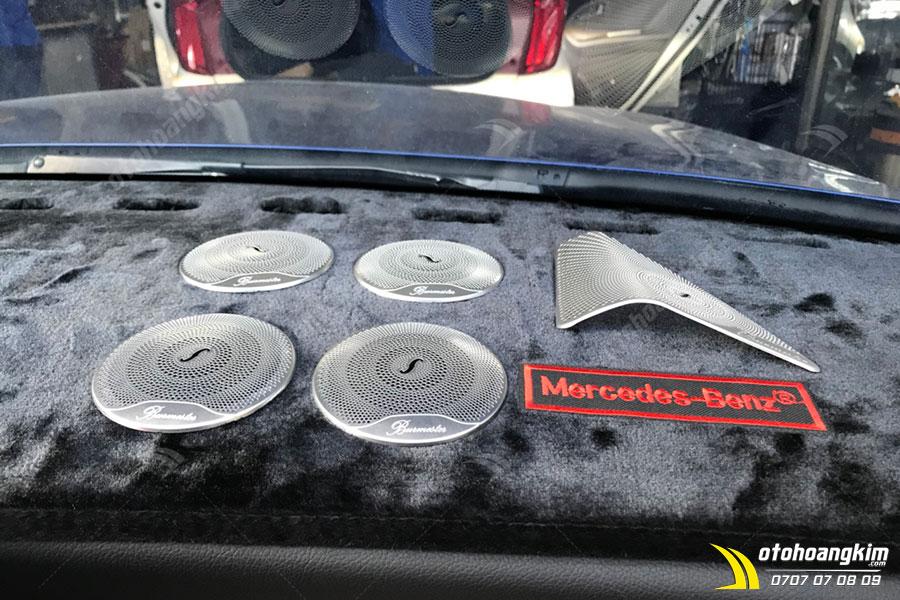 Nâng cấp âm thanh - hình ảnh ô tô Mercedes