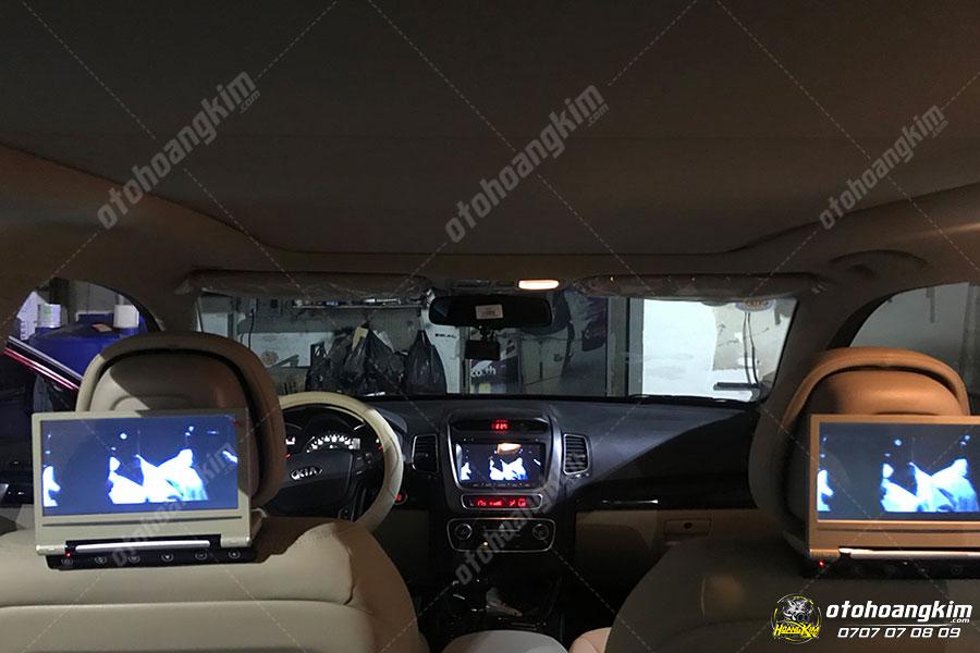 Nâng cấp âm thanh - hình ảnh ô tô Sorento