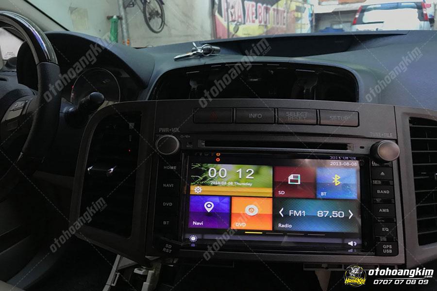 Nâng cấp âm thanh - hình ảnh ô tô cho Toyota Venza