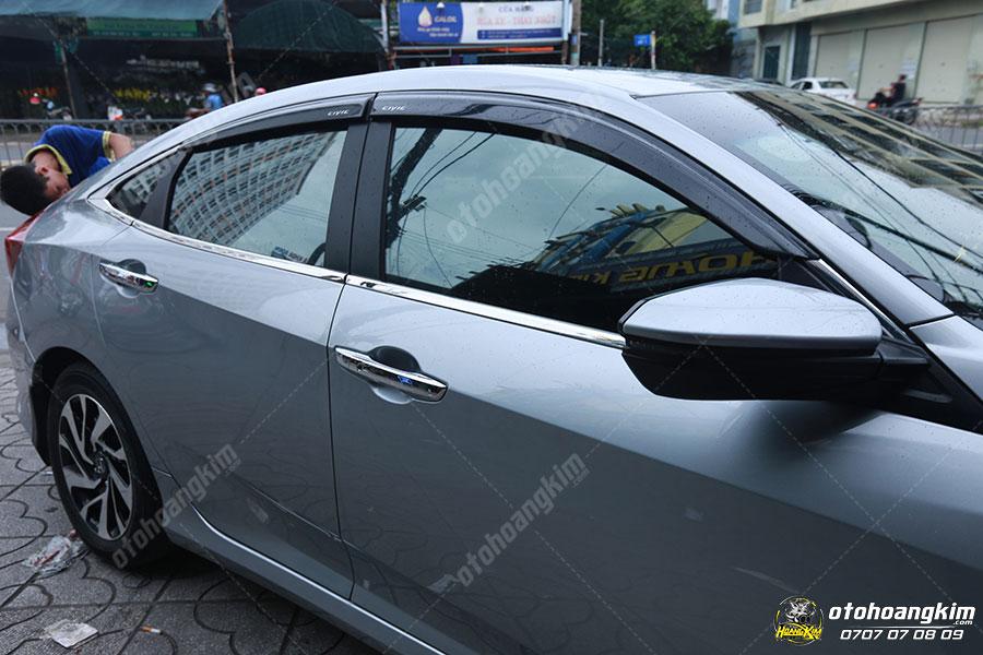 Nẹp chân kính ô tô Honda City