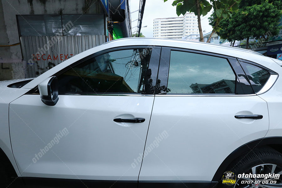 Nẹp chân kính ô tô Mazda CX5