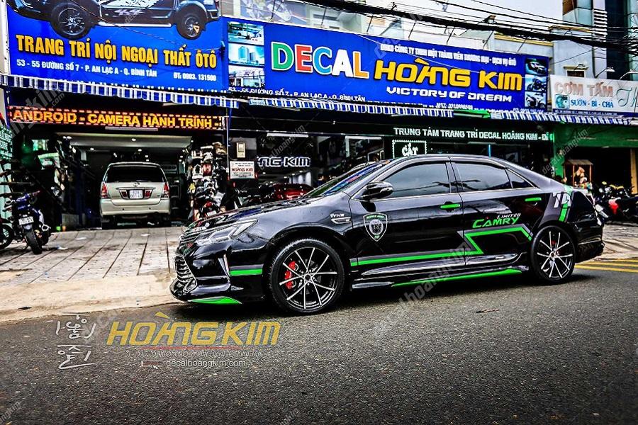 Ô tô Hoàng Kim chuyên độ body kit Toyota Camry 2019 up 2.5