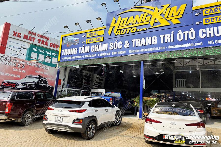 Ô tô Hoàng Kim chuyên phân phối nẹp chân kính ô tô các loại
