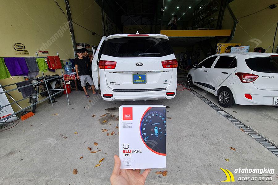 Ô tô Hoàng Kim chuyên cảm biến áp suất lốp chính hãng gắn trên mọi dòng xe